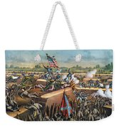 Fall Of Petersburg, 1865 Weekender Tote Bag