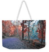 Fall On Forbidden Drive Weekender Tote Bag
