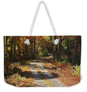 Fall On The Wyrick Trail Weekender Tote Bag