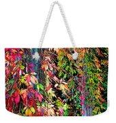 Fall Palette Weekender Tote Bag
