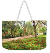 Fall Park Weekender Tote Bag
