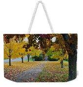 Fall Park Weekender Tote Bag