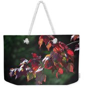 Fall Red Weekender Tote Bag