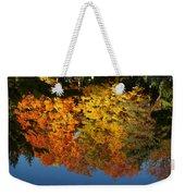 Fall Reflectionsin Michigan Weekender Tote Bag