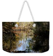 Fall River Undertones Weekender Tote Bag