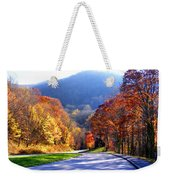 Fall Road 2 Weekender Tote Bag