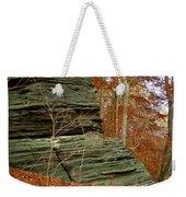 Fall Rock Weekender Tote Bag