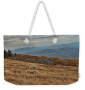 Fall Scene On Whitetop Mountain Va Weekender Tote Bag