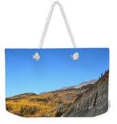 Fall Talkeetna Mountains Weekender Tote Bag