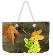 Fall Trio Weekender Tote Bag
