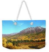 Fall Valley Weekender Tote Bag