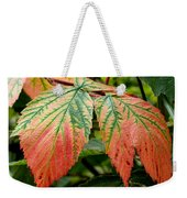 Fall Veins Weekender Tote Bag