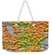 Fall Wall Weekender Tote Bag