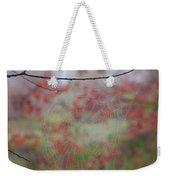 Fall Web Weekender Tote Bag