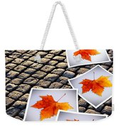 Fallen Autumn  Prints Weekender Tote Bag