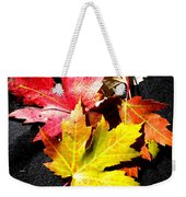 Fallen In The Fall Weekender Tote Bag