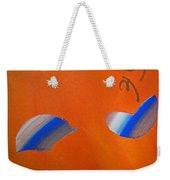Falling Blue Weekender Tote Bag