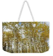 Falling For The Birch And Aspens Weekender Tote Bag