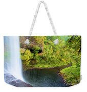 Falling Off The Cliff Weekender Tote Bag