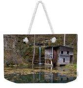 Falling Spring Mill Weekender Tote Bag