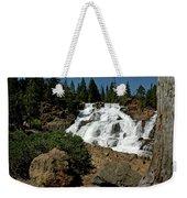 Falls In Site Glen Alpine Falls Weekender Tote Bag