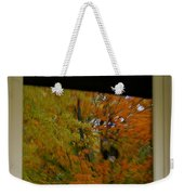 Fall's Reflective Moment Weekender Tote Bag