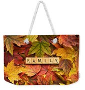Family-autumn Inpsireme Weekender Tote Bag