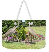 Family Meal Time Weekender Tote Bag