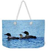 Family Swim 3 Weekender Tote Bag