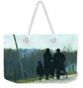 Family Time Weekender Tote Bag