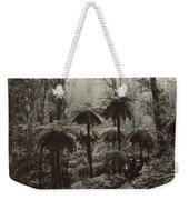 Family Walking Through A Forest Of Tree Weekender Tote Bag