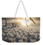 Fanciful Frosty Fractal Forest Weekender Tote Bag