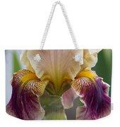 Fancy Iris Dance Ruffles Weekender Tote Bag