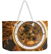 Fancy Pocketwatch On Gears Weekender Tote Bag