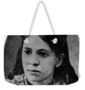 Fanny Jackson Coppin, African-american Weekender Tote Bag