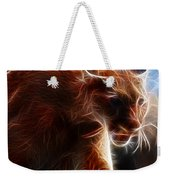 Fantasy Cougar Weekender Tote Bag by Paul Ward