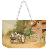 Farewell Weekender Tote Bag by Arthur Claude Strachan