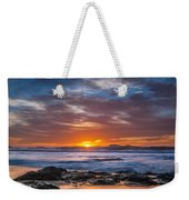 Farewell To Autumn Sun Weekender Tote Bag