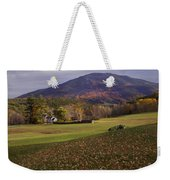 Farm By Ascutney Mountain Vermont Weekender Tote Bag