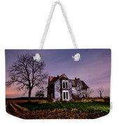 Farm House At Night Weekender Tote Bag