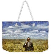 Farm Life - A Good Crop Weekender Tote Bag by Nikki Marie Smith