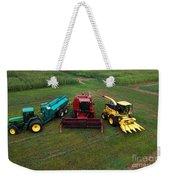 Farm Machinery Weekender Tote Bag