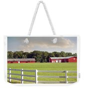 Farm Pasture Weekender Tote Bag by Brian Wallace