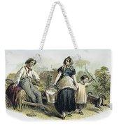 Farm Scene, C1870 Weekender Tote Bag