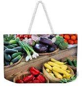 Farmers Market Summer Bounty Weekender Tote Bag