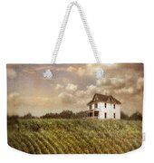 Farmhouse And Cornfield Weekender Tote Bag