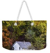 Farmhouse In Fall Weekender Tote Bag