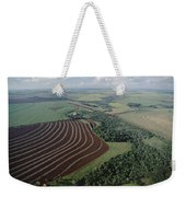 Farming Region With Forest Remnants Weekender Tote Bag