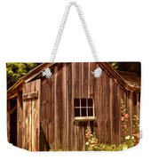 Farming Shed Weekender Tote Bag by Lourry Legarde