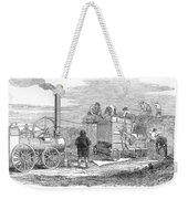 Farming: Threshing, 1851 Weekender Tote Bag